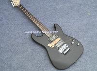 custom black guitars flower inlay body electric guitars Chian guitars