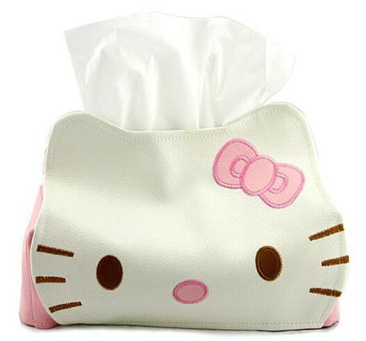 Hello kitty design home cute paper towel tube hello kitty tissue box Free shipping !!!(China (Mainland))