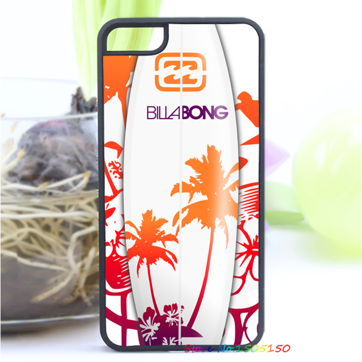 Billabong Surfboards Sunset Surf fashion cover case for iphone 4 4s 5 5s 5c for 6 & 6 plus #5980(China (Mainland))