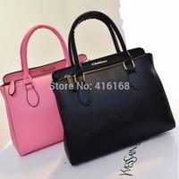 Trend women's 2015 embossed bag fashion messenger bag large capacity portable women's brief handbag