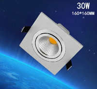 1pcs/lot  30w ,square led ceining light 120lm/w,epistar led chip,,advantage product,high quality  light.3years warranty time