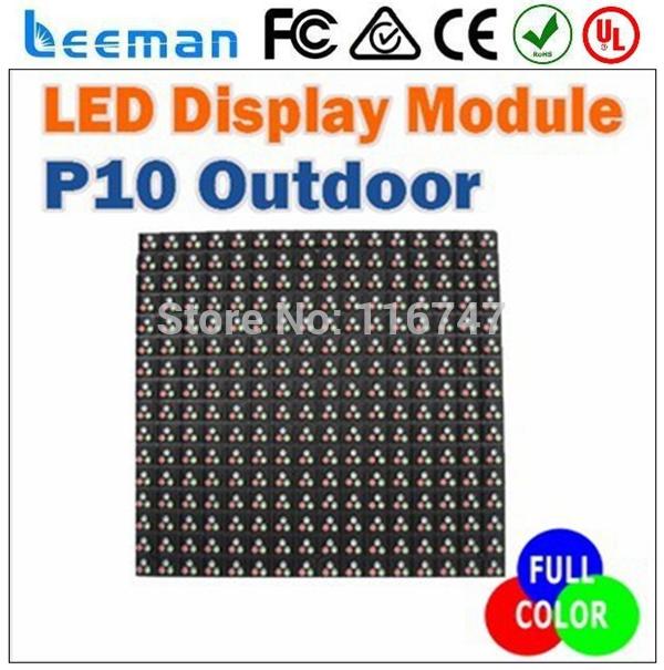 Leeman p10 stable IC MBI5024/MBI5020/MBI5026/SM giant size p16 DIP 2r1g1b big panel full color led outdoor display screen(China (Mainland))