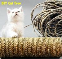 DIY cat tree, pet toys, sea rope, hemp rope sword, cat scratch board, cat toys