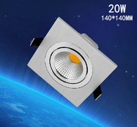 1pcs/lot  20w ,square led ceining light 120lm/w,epistar led chip,,advantage product,high quality  light.3years warranty time