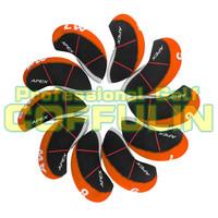 10pcs/set APEX PRO  Golf Irons Nylon HeadCovers Golf Iron Covers Club Head Covers Wholesale