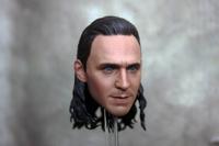 1/6 scale Custom Head Sculpt Loki The Avengers Thor Tom Hiddleston
