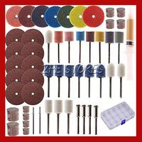 54 Piece Rotary Tool Accessory Set - Fits Dremel - Grinding, Sanding, Polishing Free Shipping