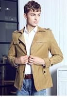 Cazadoras Hombre Cortavientos Black/Army Casual Slim Fit British Style Peak Performance Mens Clothes Wind Coat Jacket LC12006