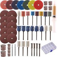54 Piece Rotary Tool Accessory Set - Fits Dremel - Grinding, Sanding, Polishing
