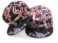 Wholesale Cool England Flag Patter Snapback Hat For Men & Women 2015 Flat Brim Caps New Flexfit Snapbacks Cap Buy Hats In Bulk