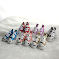 5pairs Sequins Canvas Shoe  Doll Shoes Clothes For 1/6 BJD Dolls Wholesale Fashion Beautiful dress accessories Free Shipping
