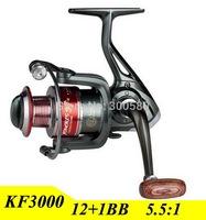 2015 3000 Series Gapless Fishing Reel 13BB Spinning Wheel Carretilha Pesca For Shimano Fishing Free Shipping