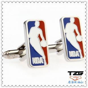NBA sports cufflinks cufflinks wholesale fashion jewelry, upscale clothing cufflinks TZG02103(China (Mainland))