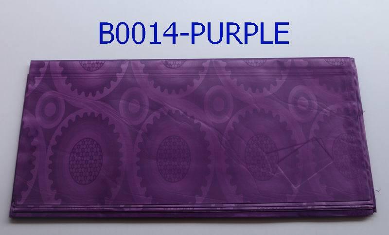 Free shipping printing brocade fabric purper color african fabric brocade B0014(China (Mainland))