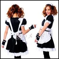 New hot sale COSPLAY popular Japanese restaurant sweetheart maid uniforms