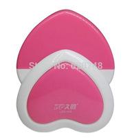 2pcs/pack light control sensor heart shape night lights, LED energy saving 0.1W, LED-425, free shipping
