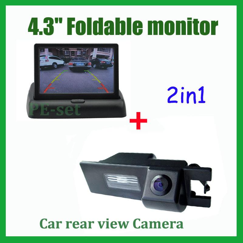 Car rear view reverse camera For Buick Regal FIAT Grande Punto Opel Vectra Astra Zafira Corsa Insignia Meriva Antara + monitor(China (Mainland))