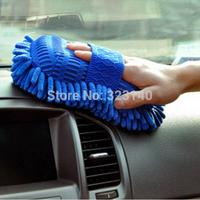 Ultrafine Fiber Chenille Anthozoan Car Wash Gloves Car Washer Supplies Multi-functional Magic Car brush FREE SHIPPING