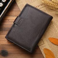2015 new multifunction passport money Baotou skin of men travel passport wallet leather wallet card package