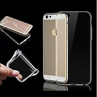 TPU Ultra Transparent Soft Case for iPhone 6 Plus #02039026