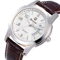 Bestdon brand luxury Luminous men's quartz watch men vintage leather strap watches classic brown wristwatch relogio masculino