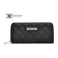 Kardashian kollection long design women's wallet kk clutch bags ells high-grade wallet wallet long design fashion women's wallet