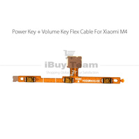 Original for Xiaomi Mi4 Power Volume Button Flex Cable for Xiaomi Mi4 M4 Power On Off Volume Up Down Connector Replacement Parts