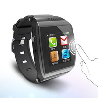 Wearable Watch Upro Smart Bluetooth Watch Watchphone 1.55 Lps Screen Support Pedomete Anti-lost Smartwatch For Smart Phone