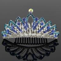 Tiara Noiva Hot Sale 2014 Bridal Hair Accessories New Children's Bride Crown Headdress Popular Fashion Alloy Beautiful Ornaments
