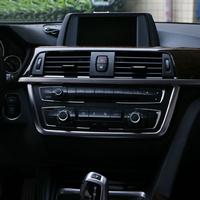 For BMW 3-SERIES F30 320 328 2013 2014 Car Pearl Chrome control panel Decorative COVER trim