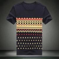 Mens T shirt 2015 Brand New Casual Slim Short-sleeve T-shirt Plus Size Tshirt 6XL 5XL 4XL