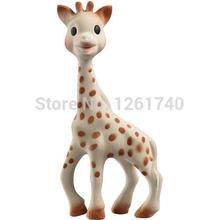 Grátis frete Sophie Vulli girafa bebê mordedor seguro borracha Natural contas silicone de grau alimentar fisher price brinquedos bebê dental care(China (Mainland))