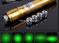 50000mw 50w 532nm high power green laser pointers can focus burn match pop balloon Bare pen Free shipping