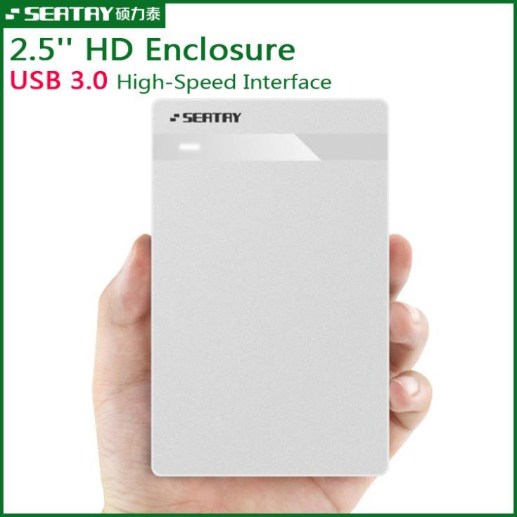 100% Original SEATAY SBOX02503 Sata to USB 3.0 HDD Case Tool Free 2.5 HDD Enclosure External Hard Disk box support sata HDD(China (Mainland))