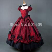 luxury bubble sleeve Medieval dress Renaissance gown royal princess queen Victoria dress Belle Ball