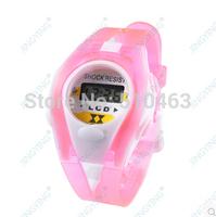 2015 Drop Shipping! 1PCS cartoon Kids Student Sport Time Clock Electronic Digital watch LCD Wristwatch Gifts for Your Girls Boys