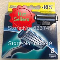 Free Shipping (16pieces/lot) Hot sell Men's Razor Blades,high Quality Blade,Shaving razor blade,Standard for RU&Euro