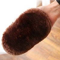 3384 leather nursing cover shoes clean shoe glove portable shoes gloves