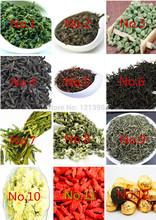 24 bags Organic Chinese Tea Different flavors Tea, Jinjunmei Dahongpao Lapsang souchong Black Tea Oolong Tea +Secret Gift