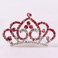 Tiara Noiva Rushed 2014 Real Bridal Hair Accessories Popular Beautiful Tiara Crown Taobao Explosion Models Alloy Crowns Children
