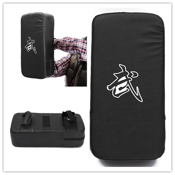PU Leather Taekwondo MMA Boxing Kicking Punching Pad TKD Training Gear Sanda /Fighting/ Muay Thai Foot Target New(China (Mainland))