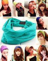Women Girls Headbands hairband For Sports,Workouts,Dance,Hair Accessories ,Yoga hair band 10pcs/lot