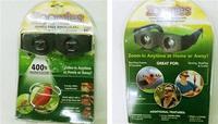 "New Zoomies ""AS SEEN ON TV"" Hands Free Binoculars 400% Magnification"