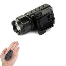TrustFire G01 CREE LED Tactical Flashlight 2-Mode 600LM Pistol Handgun Torch Light Weather-proof Handheld Flashlights(China (Mainland))