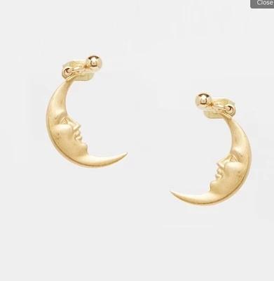 Cheap Fashion Jewelry Websites moon stud earrings fashion