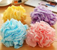 2015 Hot sale mesh sponge bath ball sponge bath flower milk shower gel special loofah Free Shipping