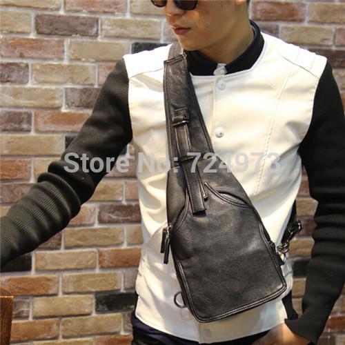 Black PU leather unisex waist pack designer brand man fanny pack casual-bags women fashion waist pouch pochete masculina(China (Mainland))