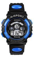 10pcs HONHX cartoon boys and girls children's multifunction Sports Digital electronic watch waterproof LED luminous T62