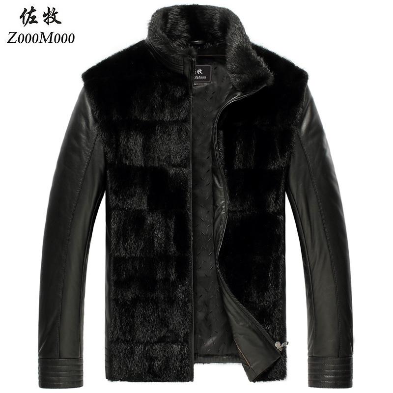 Cheap Authentic Designer Clothes For Men design genuine leather fur