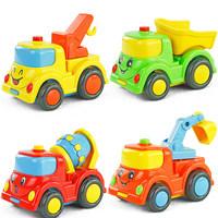Engineering car inertia car WARRIOR car yakuchinone child car toy car 4 pca /SET